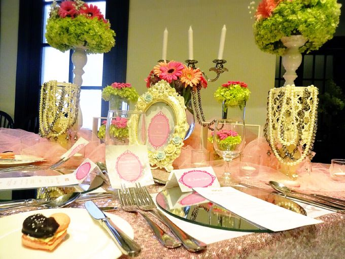 Feeling so pink by Valexis Table Design - 004