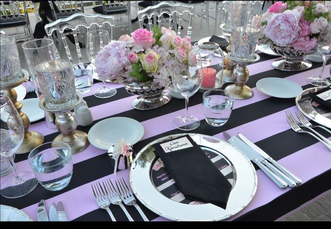 Stripes in Pink by d'lara Chocolate and Events - 011