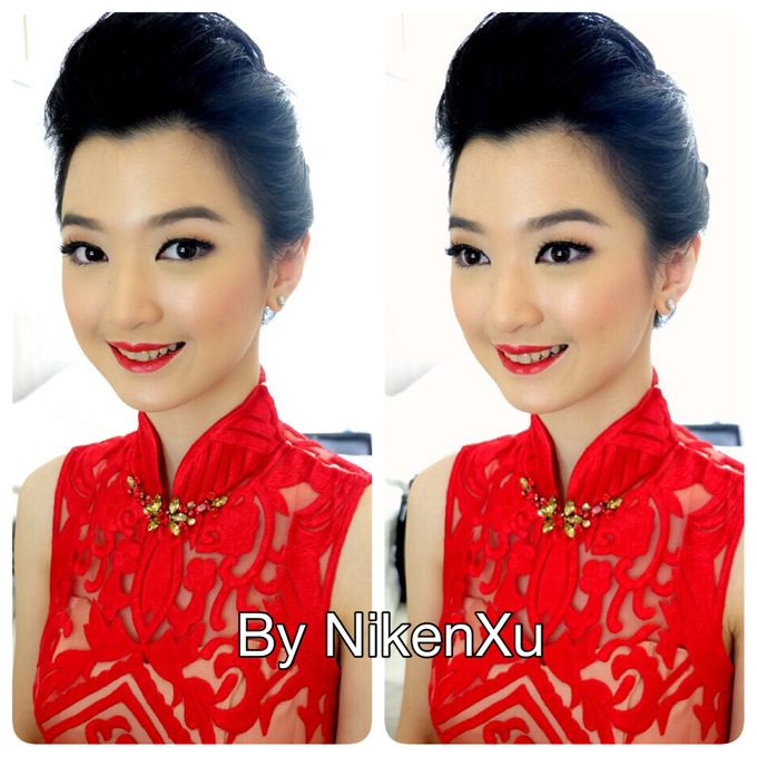 Wedding Makeup by Niken Xu Makeup Artist - 005