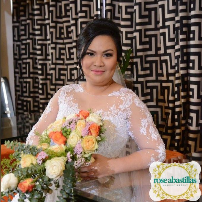 My Brides  by Makeup By Rose Abastillas - 005