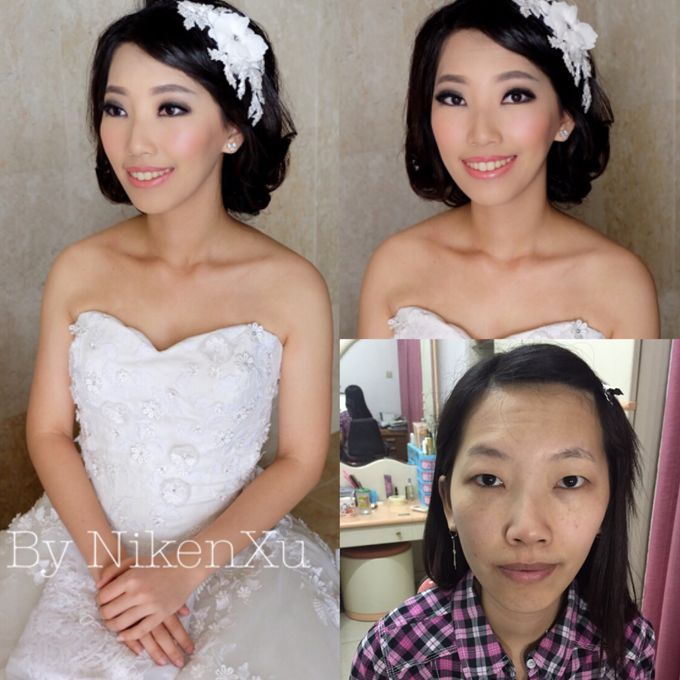 Wedding Makeup by Niken Xu Makeup Artist - 011