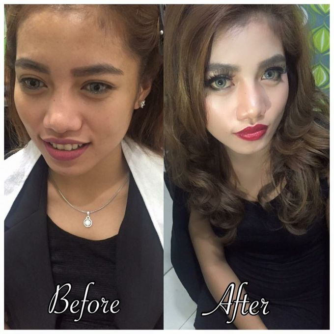Professional makeup class by Maycy Makeupartis - 012