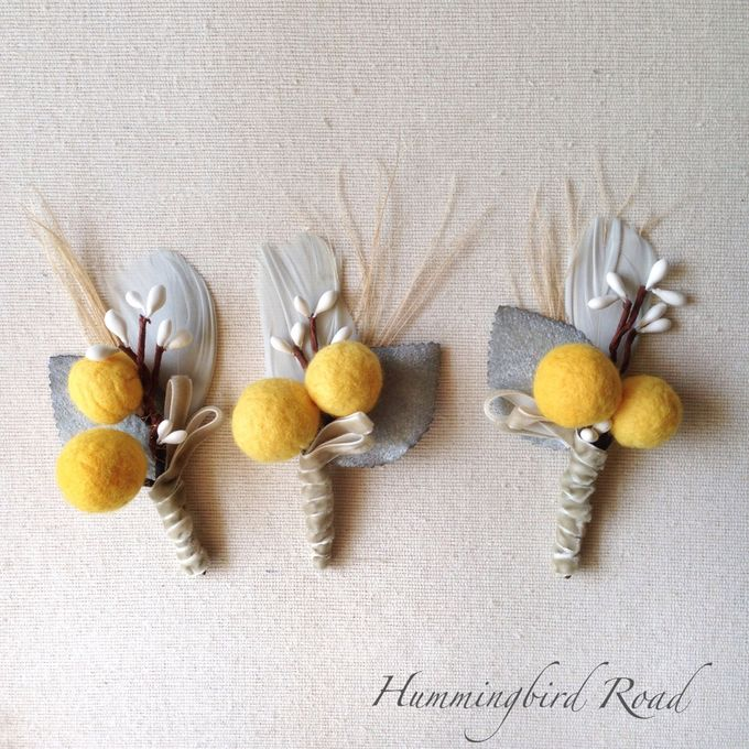 Corsages and Boutonnieres by Hummingbird Road - 012