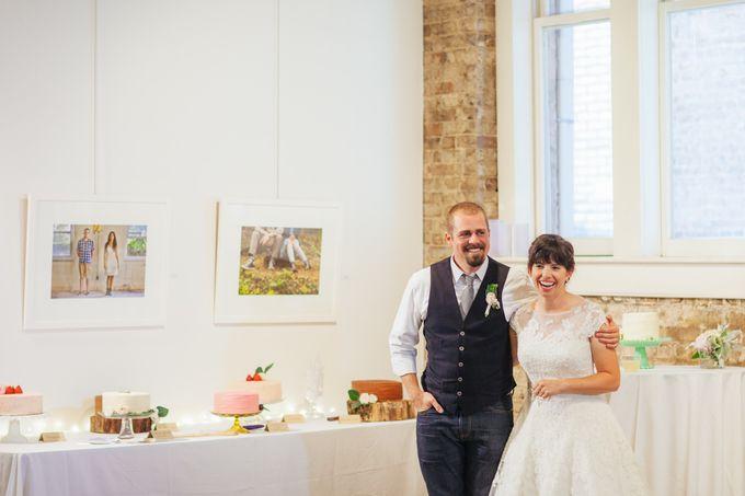 Cake dreamscape wedding by Milk + Honey - 014