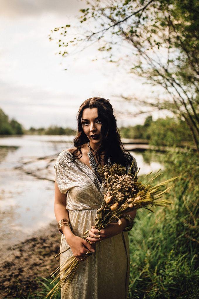 The woodland-boho bride by Kim Jey Photography - 001