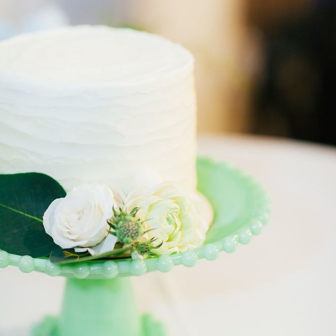 Cake dreamscape wedding by Milk + Honey - 003