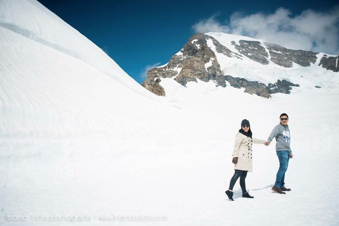 Honeymoon in Switzerland by Barnas Viola Photography - 001