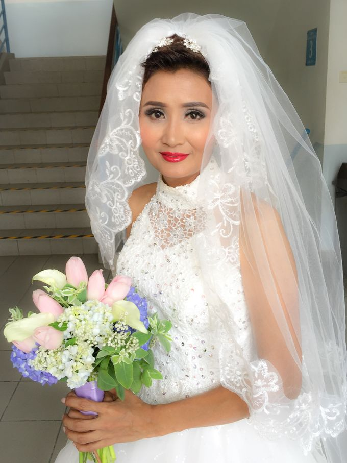 Wedding Singapore by Noveo Alexander Professional Makeup Artist - 005