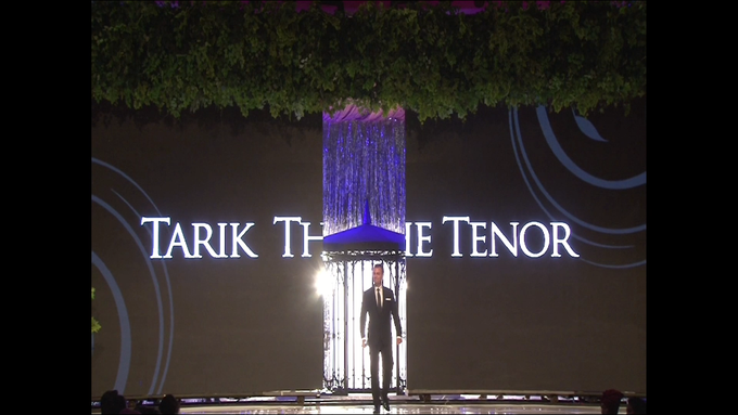 Performing at Imperial Ballroom Blissful Wedding Fashion Show by Tarik The Tenor ( The Luxury Entertainment ) - 003