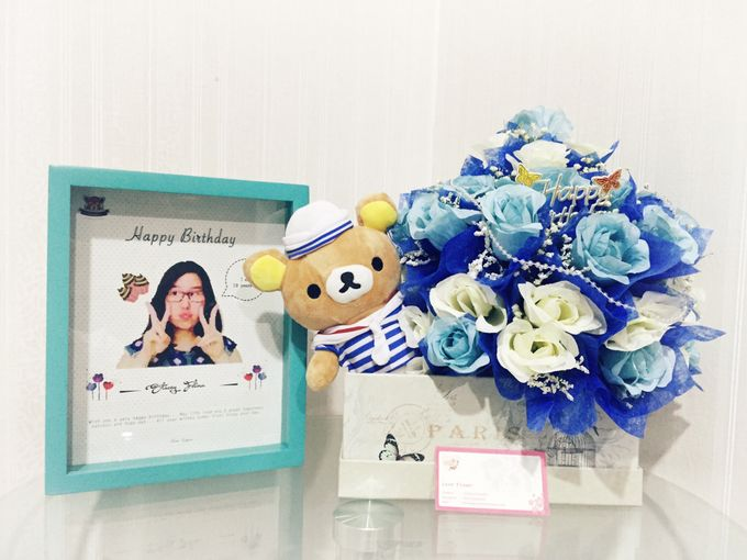 Flower gift and box by Love Flower - 002