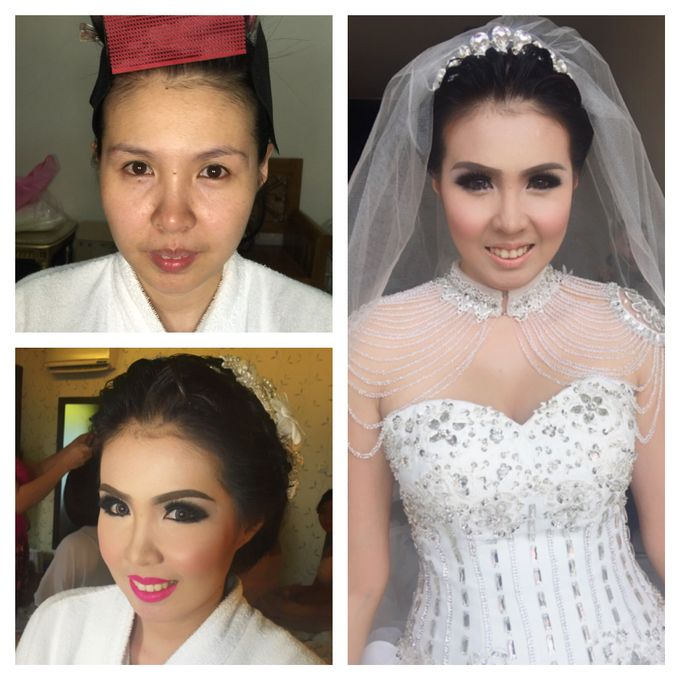 Wedding of Andhika and Mei by Vidi Daniel Makeup Artist managed by Andreas Zhu - 001