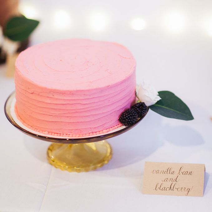 Cake dreamscape wedding by Milk + Honey - 006