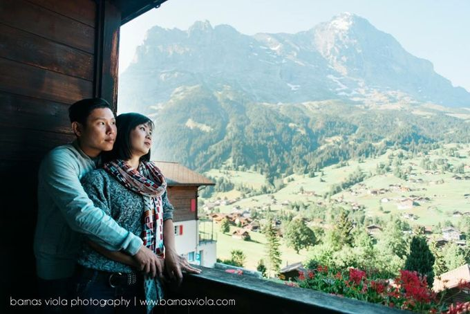 Honeymoon in Switzerland by Barnas Viola Photography - 004
