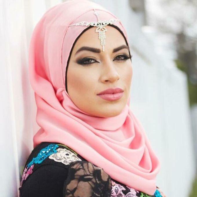 Bridal Hijab Styles by Hijab Styles By Nada - 004