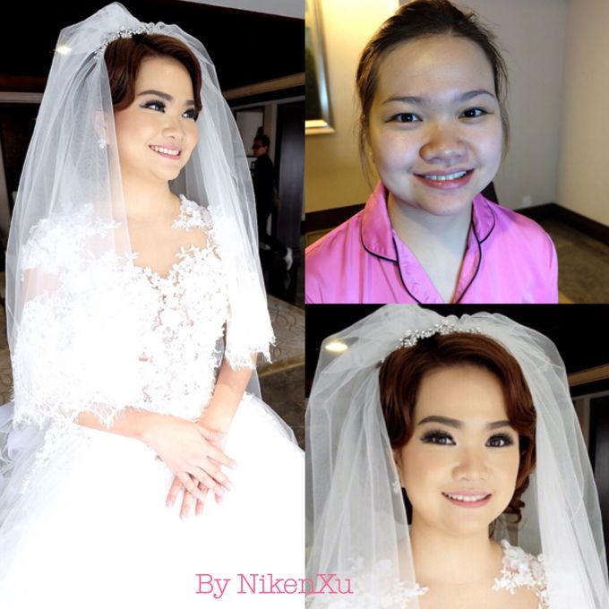 Wedding Makeup by Niken Xu Makeup Artist - 023