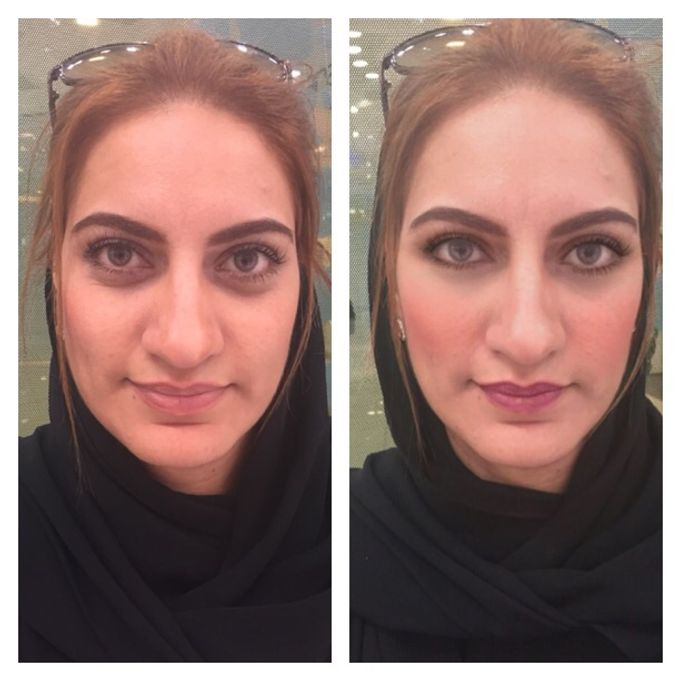 BEFORE AND AFTER by Nadine Rayo Hair and Makeup Artistry - 012