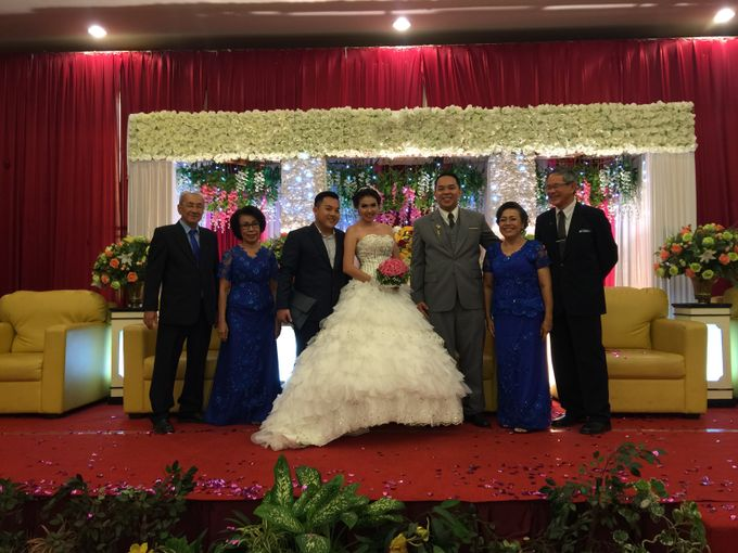 Wedding of Andhika and Mei by Vidi Daniel Makeup Artist managed by Andreas Zhu - 007
