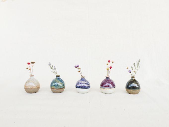 Handmade Mini Vase for Wedding door gift by Oh!eaf - 002