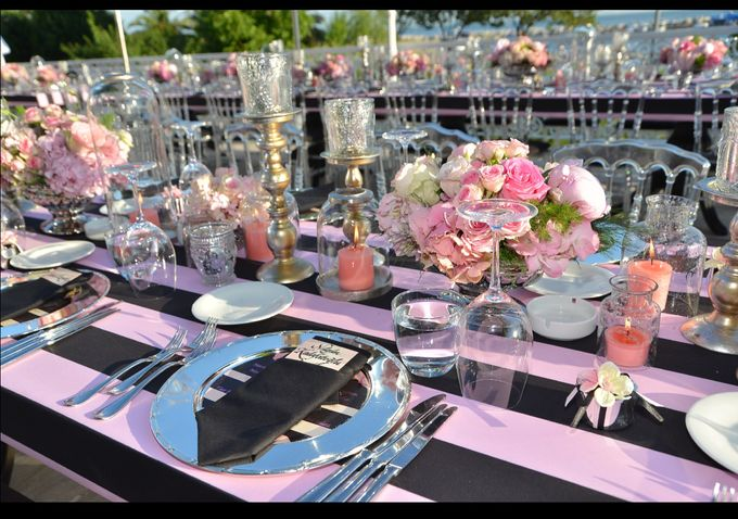 Stripes in Pink by d'lara Chocolate and Events - 013