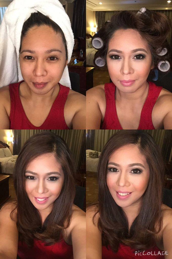 BEFORE AND AFTER by Nadine Rayo Hair and Makeup Artistry - 013