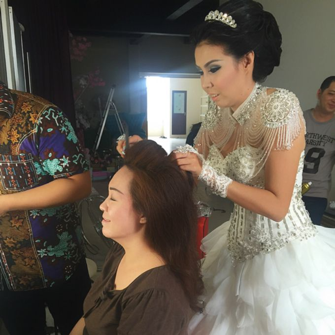 Wedding of Andhika and Mei by Vidi Daniel Makeup Artist managed by Andreas Zhu - 005