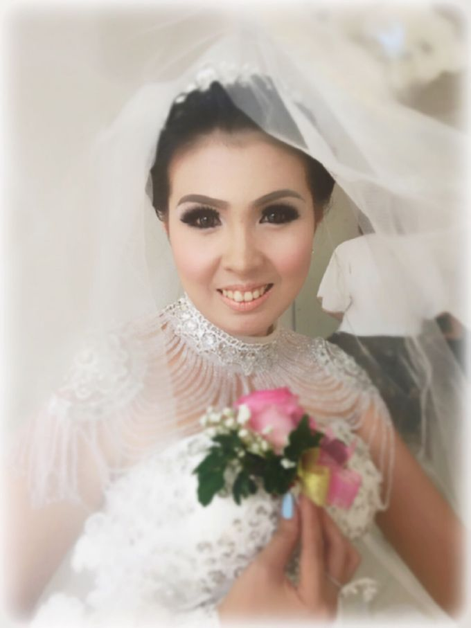 Wedding of Andhika and Mei by Vidi Daniel Makeup Artist managed by Andreas Zhu - 002