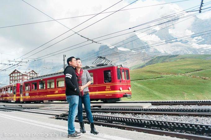 Honeymoon in Switzerland by Barnas Viola Photography - 005