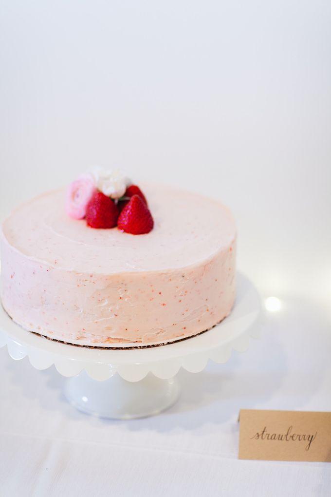 Cake dreamscape wedding by Milk + Honey - 005