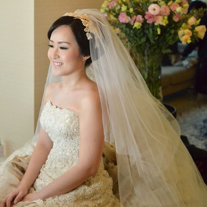 Bridal Make Up by Mimi kwok makeup artist - 016
