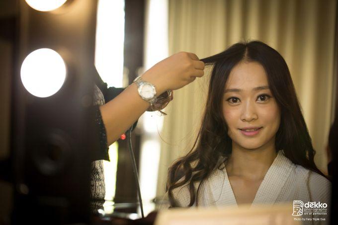 Bridal makeup for asian bride by Endrye MakeupArt - 002