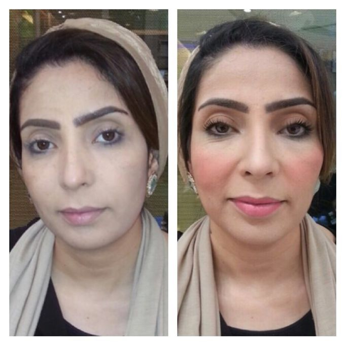 BEFORE AND AFTER by Nadine Rayo Hair and Makeup Artistry - 003