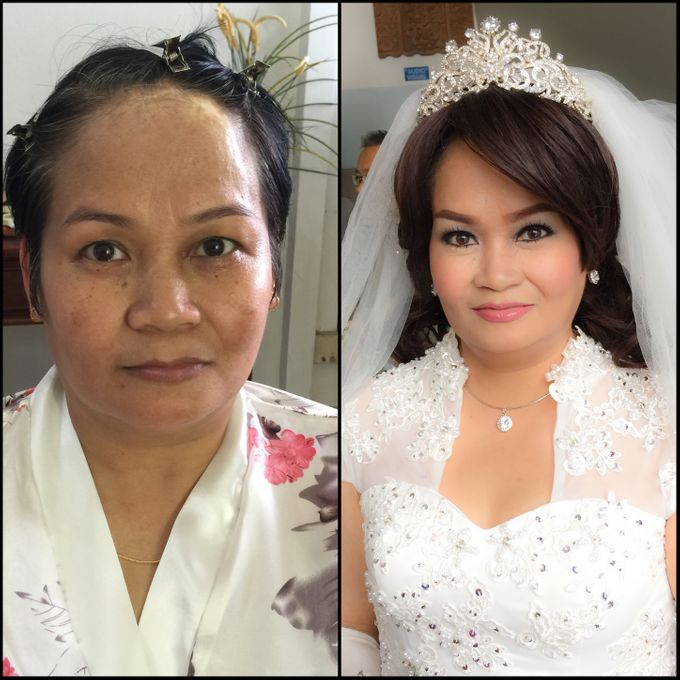 Wedding Singapore by Noveo Alexander Professional Makeup Artist - 003