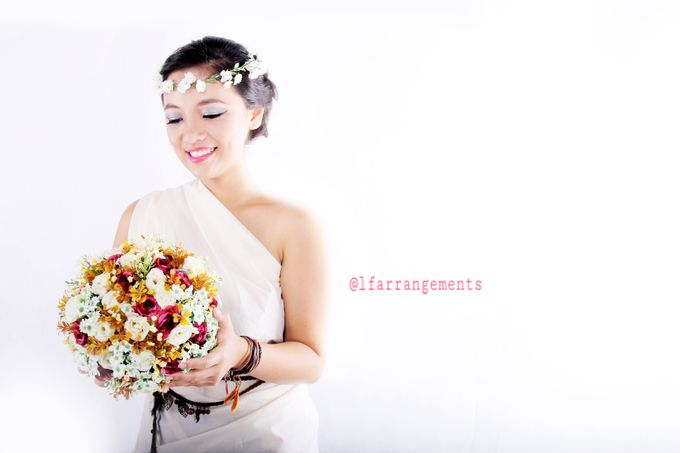 Wedding bouquet photography by Love Flower - 002
