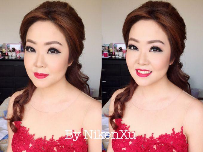 Wedding Makeup by Niken Xu Makeup Artist - 019