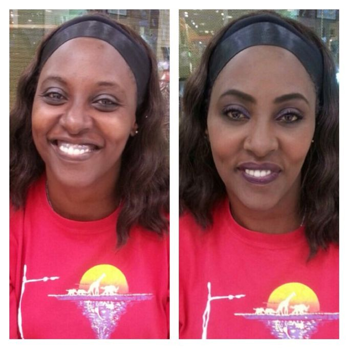 BEFORE AND AFTER by Nadine Rayo Hair and Makeup Artistry - 002