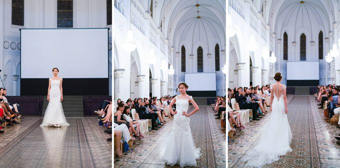 Fashion show at Chijmes by Rebecca Caroline - 006