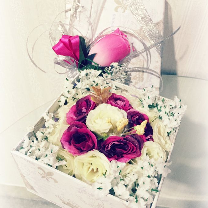 Flower gift and box by Love Flower - 003