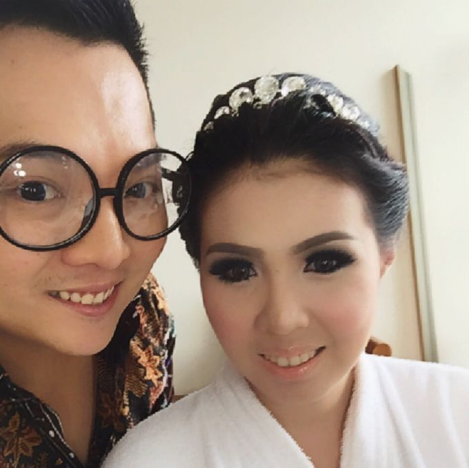 Wedding of Andhika and Mei by Vidi Daniel Makeup Artist managed by Andreas Zhu - 006