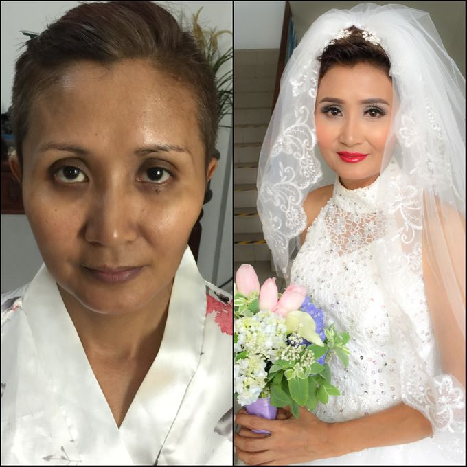 Wedding Singapore by Noveo Alexander Professional Makeup Artist - 006
