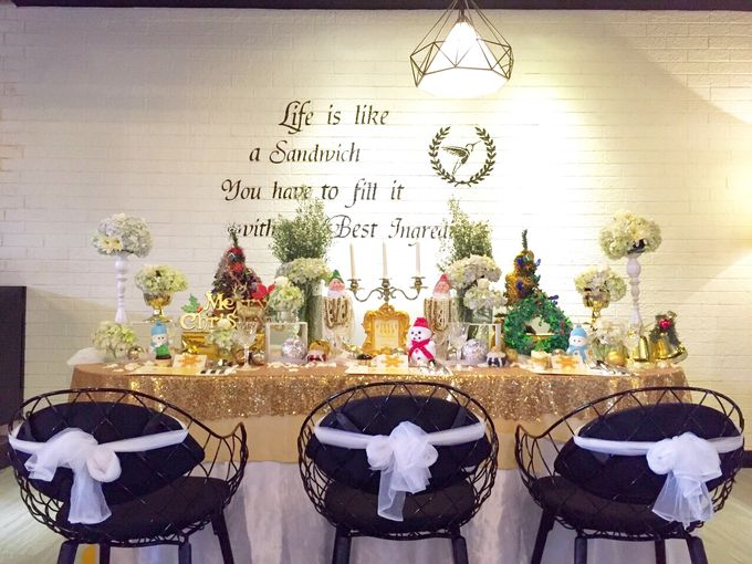 Gold christmas by Valexis Table Design - 008
