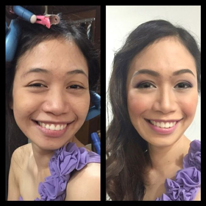 BEFORE AND AFTER by Nadine Rayo Hair and Makeup Artistry - 010