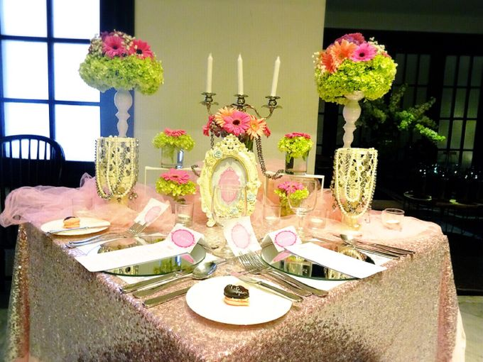 Feeling so pink by Valexis Table Design - 005