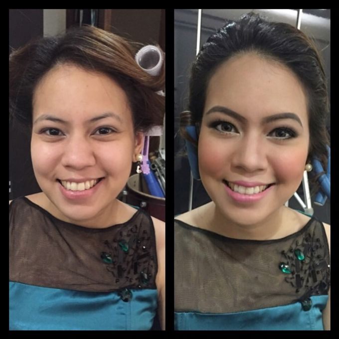 BEFORE AND AFTER by Nadine Rayo Hair and Makeup Artistry - 009