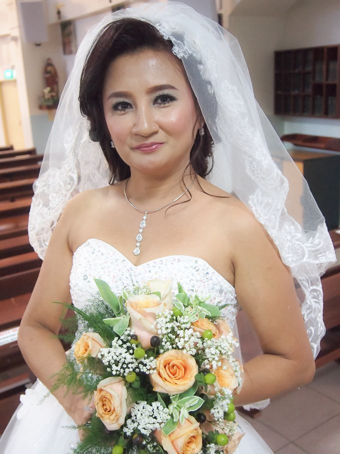 Wedding Singapore by Noveo Alexander Professional Makeup Artist - 007