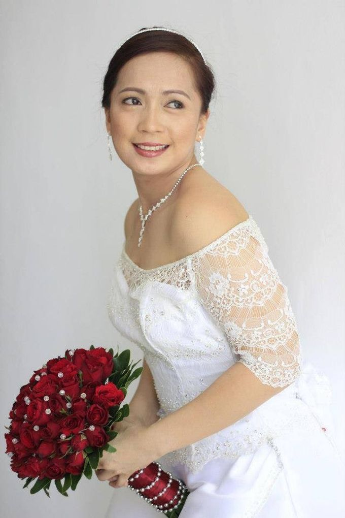Real Brides by Colorplay Hair and Makeup by Malou Hibaler - 003