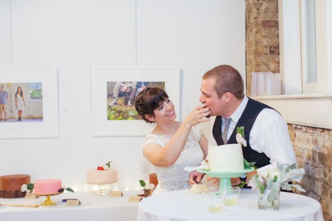 Cake dreamscape wedding by Milk + Honey - 015