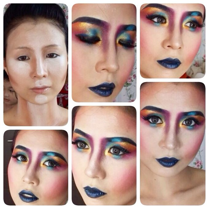 Collaboration by Mimi thio Makeup artis - 011