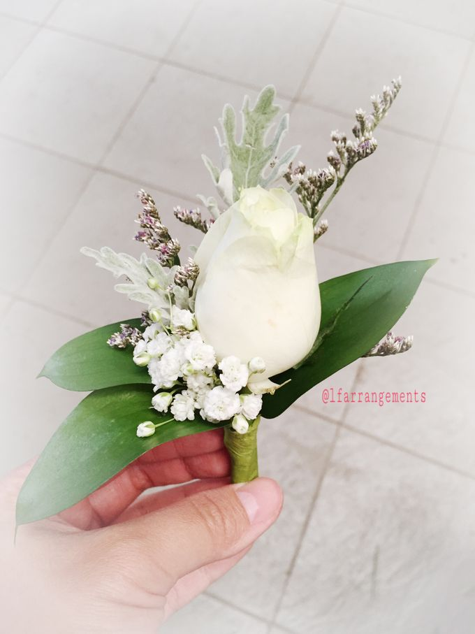 Wedding hand bouquet by Love Flower - 002