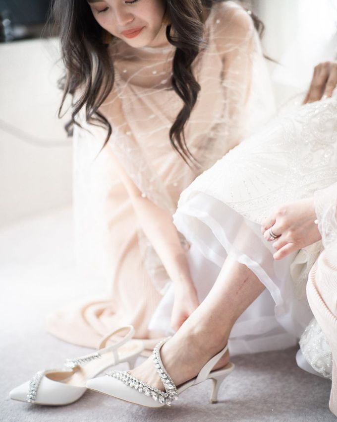 @imelvilentcia | #SachlireneSonya White 7cm by SACHLIRENE TFOTA - 008
