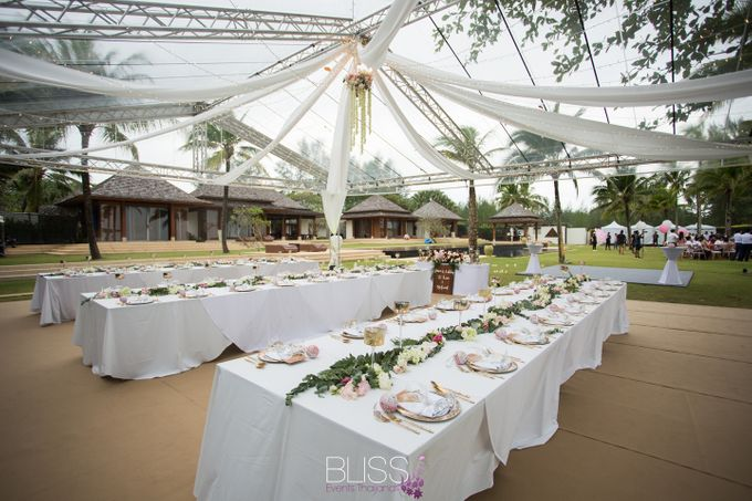 A wonderful rustic style wedding at Jivana villas Natai beach by BLISS Events & Weddings Thailand - 004